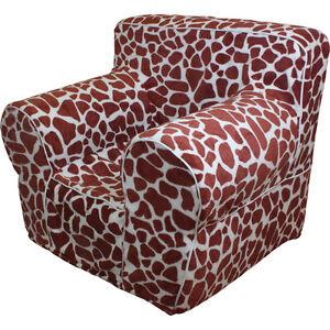 insert for pottery barn kids anywhere chair giraffe print cover small ebay. Black Bedroom Furniture Sets. Home Design Ideas