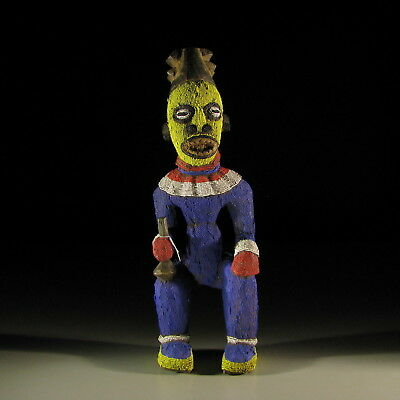 2640) Afrikanische Bamun Figur Kamerun Afrika Kunst