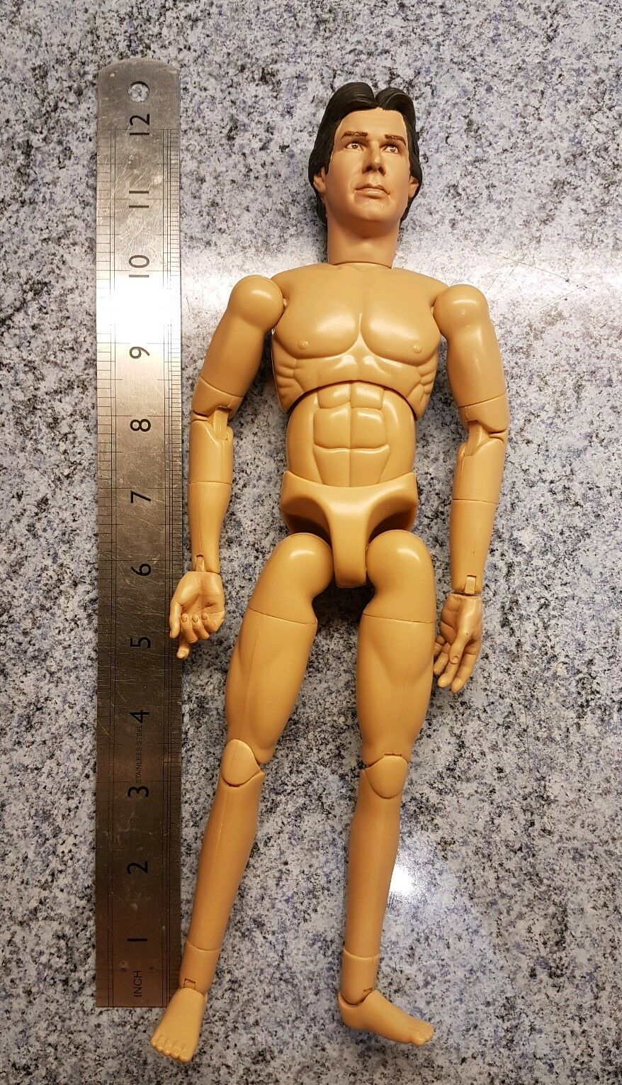 1/6 scale SIDESHOW Star Wars TESB Han Solo 's nude body for 12