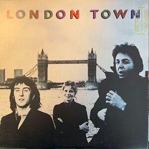 PAUL-McCARTNEY-amp-WINGS-London-Town-1978-UK-FIRST-PRESSING-14-track-vinyl-LP