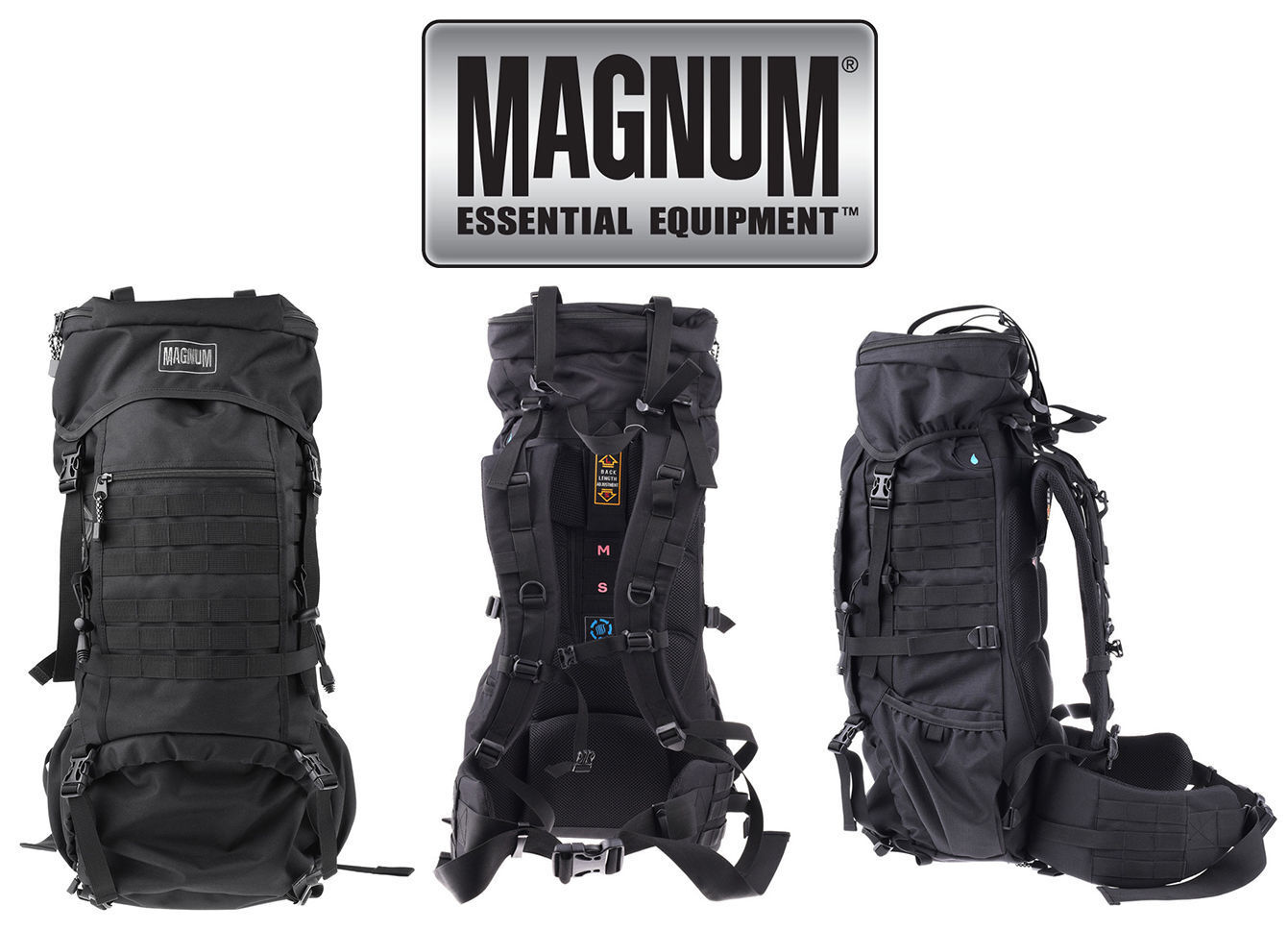 Magnum Hi-Tec Bison 65 L Trekking Army Bag Sport Outdoor Randonnée Sac à dos