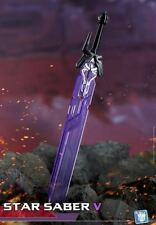 New off  Sliver DR.WU DW-TP08 Star Saber Sword For Transform Class Opitmus Prime