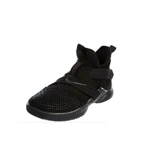 Nike LeBron Soldier XII 12 SFG Basketball shoes Triple Black AO4054-003 Size 12