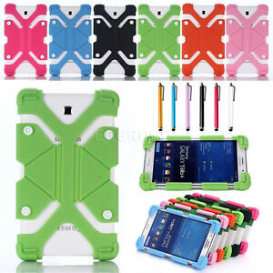 US-For-Various-7-8-034-Tablet-Shockproof-Adjustable-Silicone-Gel-Protect-Case-Cover
