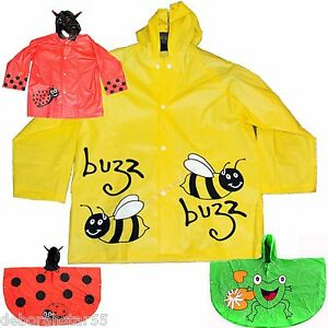 Childrens-Raincoat-Kids-Raincoat-Childrens-Rain-Poncho-Cartoon-Childrens-Mac