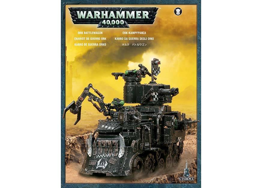 Karro da Guerra degli  Orki -  Ork Battlewagon WARHAMMER 40K 40000 Citadel  garanti