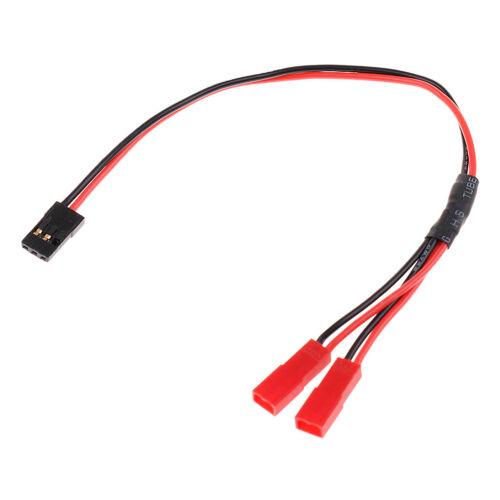 JR 1 Stecker auf JST 2 Weibliche Y Stecker Wire Splitter Kabel für RC
