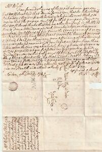 1744-DERBY-PMK-LETTER-BENJAMIN-BLYTH-TO-ROBERT-NEWTON-AT-NORTON-SHEFFIELD-YORKS