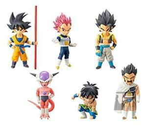 Banpresto-Movie-Dragon-Ball-S-World-Collectible-Figure-vol-1-Whole-Set-of-6