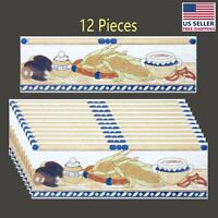 12 Pcs Ceramic Listello Tile Border Chair Rail 3 X 10   Renovator's Supply on Sale