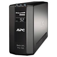 Apc Back-ups Pro 700 Battery Backup System 700 Va 6 Outlets 355 J Br700g