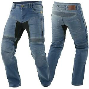 Trilobite Parado Motorrad Jeans Hose L30 Blau Herren Stretch Abriebfest Reißfest AusgewäHltes Material Auto & Motorrad: Teile