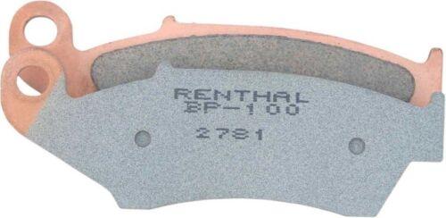 Renthal RC-1 Works Rear Brake Pads-Husqvarna-TC 50-18-19