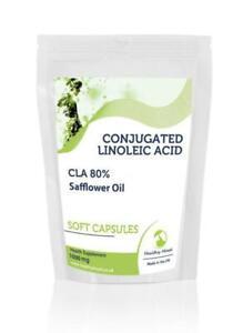 Conjugated-Linoleic-Acid-1000mg-CLA-80-x1000-Soft-Capsules-Letter-Post-Box-Size