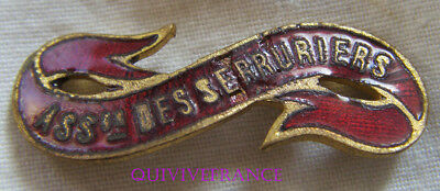 Bg8466 - Insigne Badge Ruban Association Des Serruriers Duurzame Service
