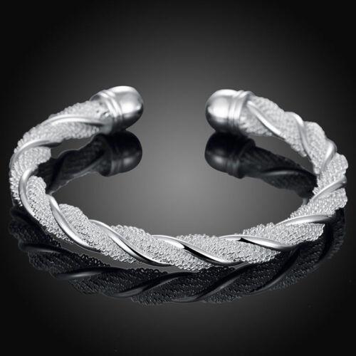 Hot Sale Wedding party Jewelry Silver Charming Bangle Bracelet Jewelry