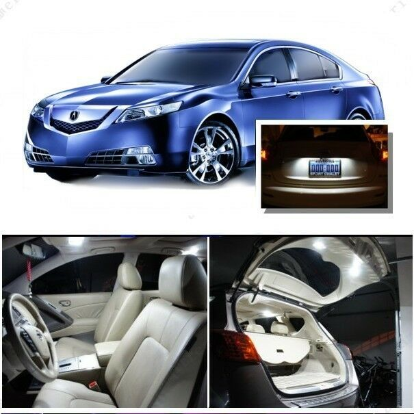 For Acura TL 2009-2014 Xenon White LED Interior Kit