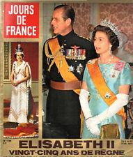 jours de france n°1156 elisabeth II  sydney rome 1977