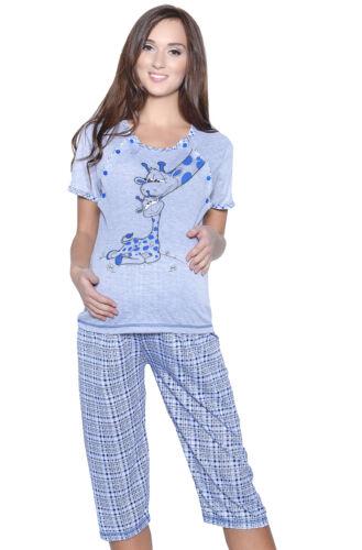 Mija 3in1 Stillpyjama Stillschlafanzug Umstandspyjama Pyjama Schlafanzuge 2069