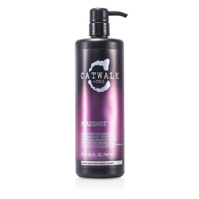 Tigi Catwalk Headshot Reconstructive Shampoo (For Chemically Treated Hair) 750ml