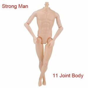 1 PC Nude Bambola CORPO PER BAMBOLE NO HEAD 12 JOINT lo spostamento di corpi nudi fai da te