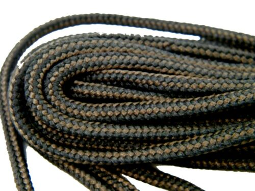 proBOOT Multi-color rugged wear Heavy Duty round boot shoelaces 2 Pair Pack