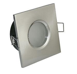 Deckenleuchte Badezimmer IP65 Einbaustrahler 230V GU10 Einbau Spot ...