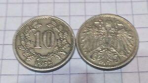 Austria - 10 Heller 1915 - Österreich - Deutschland - Austria - 10 Heller 1915 - Österreich - Deutschland