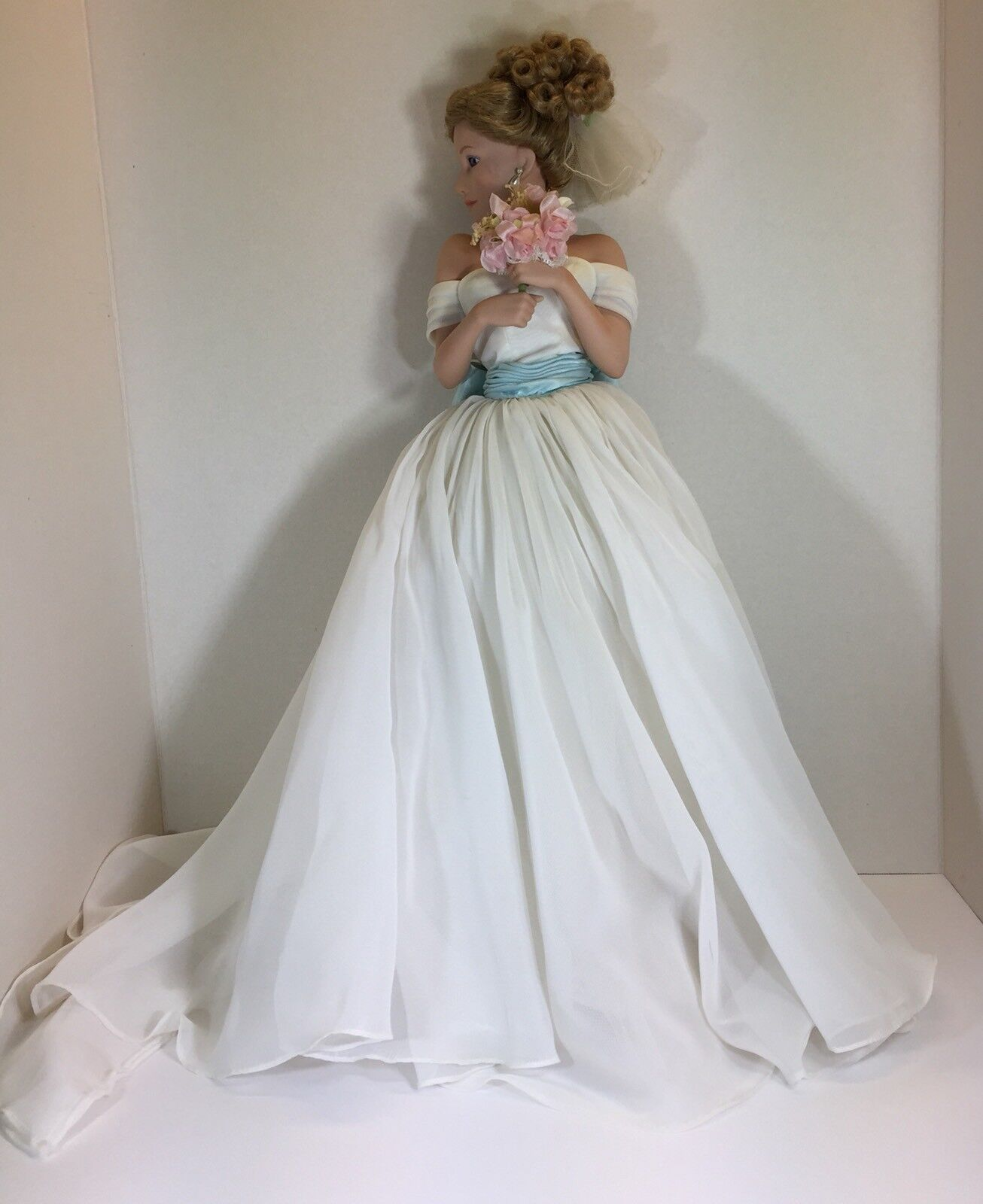 Dolls & Bears Straightforward Berdine Creedy Künstlerpuppe Porzellan Puppe 72 Cm. Dolls