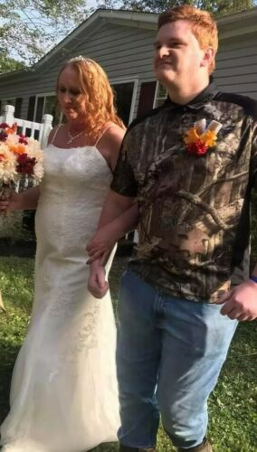 Wedding gown size 16