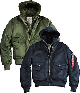 Alpha Industries MA1 D-TEC VF Bomber Jacket Aviator Jacket Winter ...