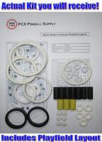 1993 Williams Bram Stoker's Dracula Pinball Rubber Ring Kit