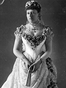 Vintage-Portrait-Princess-Beatrice-Queen-Victoria-Daughter-Large-Art-Print-18x24