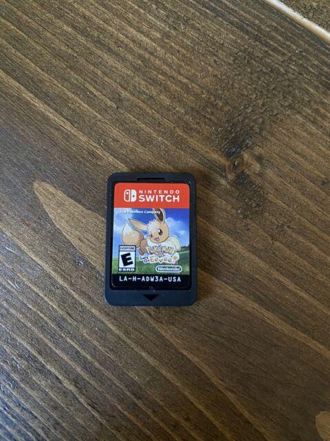 Pokemon: Lets Go Eevee! (Nintendo Switch, 2018) Cartridge Only