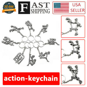 869f2734004 Details about 8pcs Novelty Moving Adult Keychain Key Ring Couple Game Toys  Secret Adults Gift