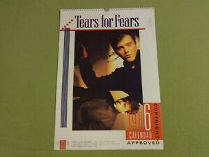 CALENDAR-1986-TEARS-FOR-FEARS