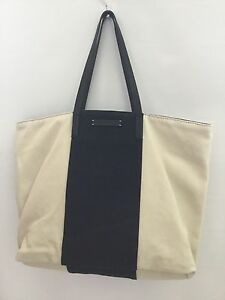 Image is loading Authentic-A-X-Armani-Exchange-Shoulder-Tote-Bag-Large- 88931bb649207
