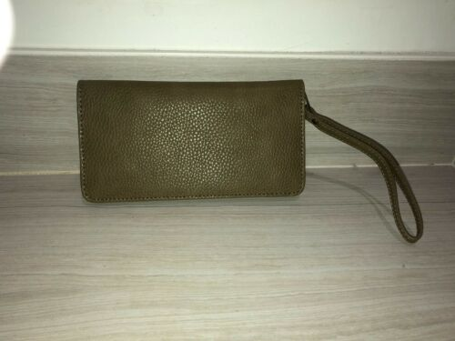 Style brown Wallet 100Leather York Military Barney's New Olive jR5q34AL