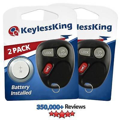 PAIR Remote for 2001-2002 Chevrolet Silverado Keyless Entry