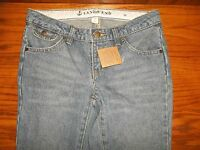 Girl's Land's End Blue Jeans 10 Adjustable Waist Inseam 27 Msp $29.50