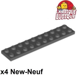 grille NEW 4151 Lego Plaque grille 8x8 gris foncé Neuf Dark Bluish Gray plate w