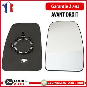 MIROIR glace de rétroviseur Exterieur DROIT Master 3 NV400 Movano B = 963655132R