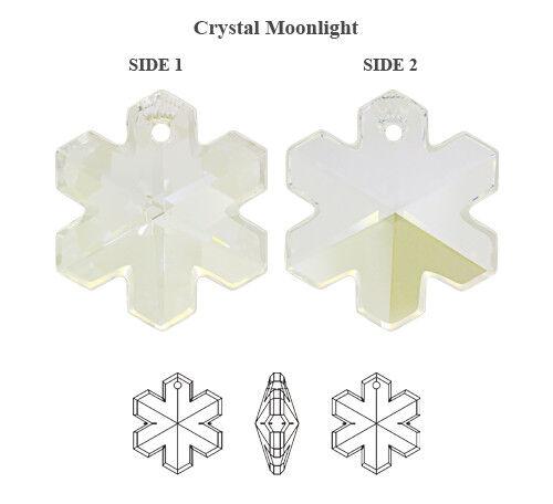 Wholesale Genuine Swarovski 6704 flocon de neige cristal Pendentifs
