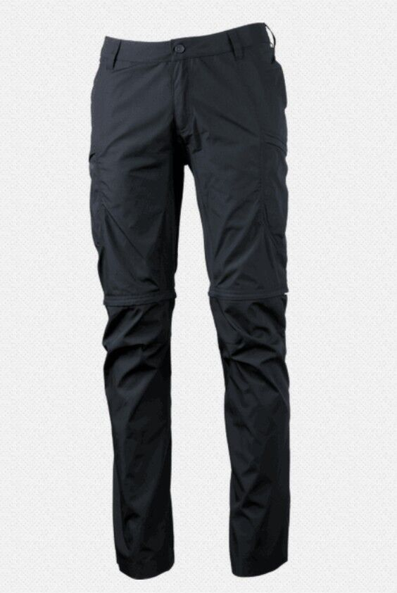Lundhags Nybo Zip-Off Pant Men, Men's Trousers with Zip-Off  Function, Charcoal  discount sale