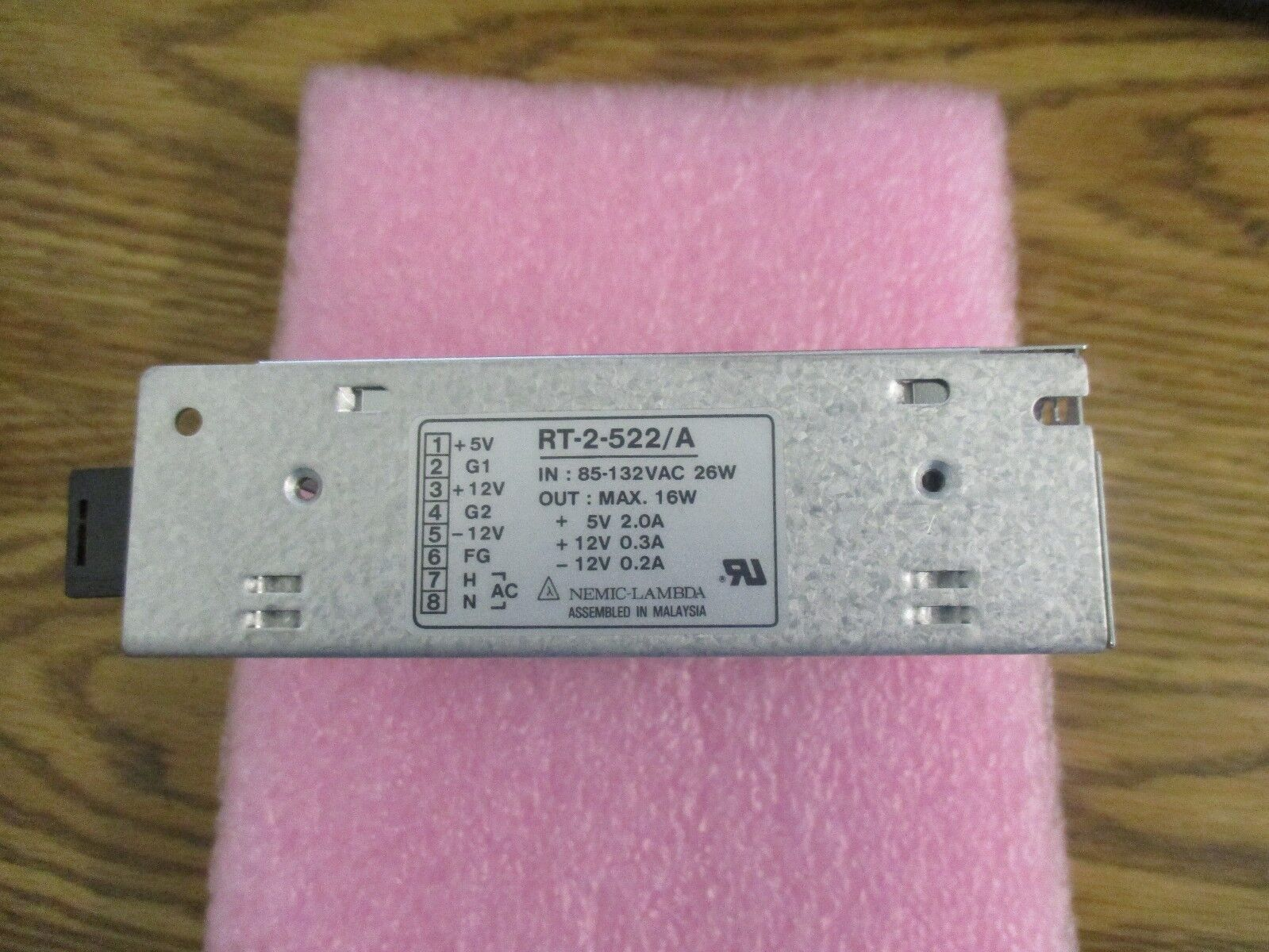 Nemic-Lambda Modelo RT-2-522/A Probado Buena < la fuente de alimentación. alimentación. alimentación. 108ace