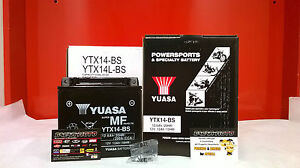 BATTERIA-BUELL-YUASA-YTX14-BS-CARICATA-XB9S-Lightning-900-2003-2004