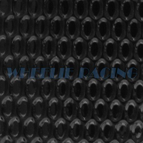CHROME RED/&BLACK PRO GRIP TANK PAD+GAS CAP COVER 04-05 NINJA ZX-10R//6R//9R//ZZR