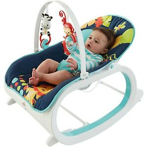 Image is loading Infant-To-Toddler-Rocker-Baby-Bouncer-Rocking-Vibrating-  sc 1 st  eBay & Infant To Toddler Rocker Baby Bouncer Rocking Vibrating Recliner ... islam-shia.org