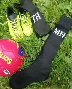 Kids-Football-Socks-Rugby-Hockey-Soccer-Sports-Socks-Personalised-Boys-Girls
