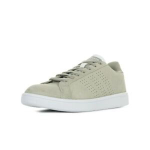 half off picked up wide varieties Détails sur Chaussures Baskets adidas homme CF avantage CL taille Gris  Grise Synthétique